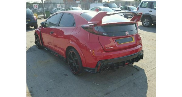 HONDA CIVIC TYPE R 2000 CC PETROL 5 DOOR 6 SPEED MANUAL BREAKING SPARES NOT SALVAGE 2015