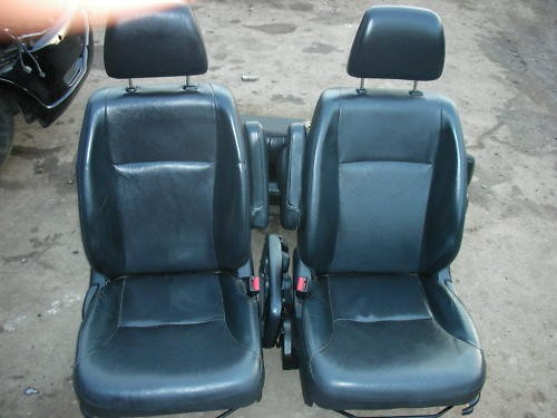 HONDA CR-V CRV BLACK LEATHER SEATS INTERIOR 2004- ONWARDS.
