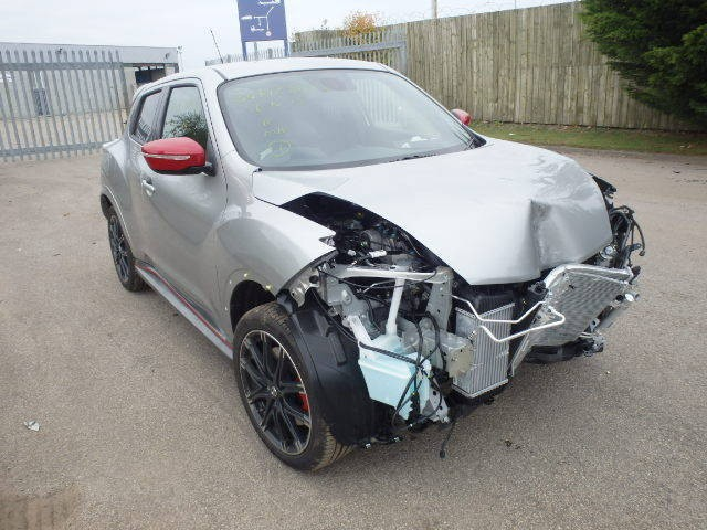 NISSAN JUKE NISMO RS DIG-T 1600 CC SILVER PETROL HATCHBACK BREAKING SPARES NOT SALVAGE 2015