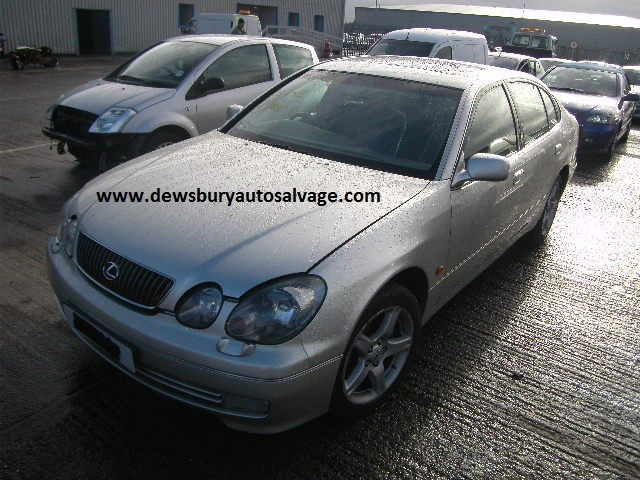 LEXUS GS430 4 DOOR SALOON AUTOMATIC 2001 BREAKING SPARES NOT SALVAGE