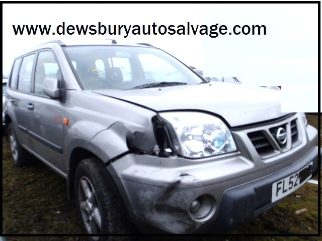 NISSAN X TRAIL X-TRAIL 2200 SPORT TD  ESTATE 2002 BREAKING SPARES NOT SALVAGE
