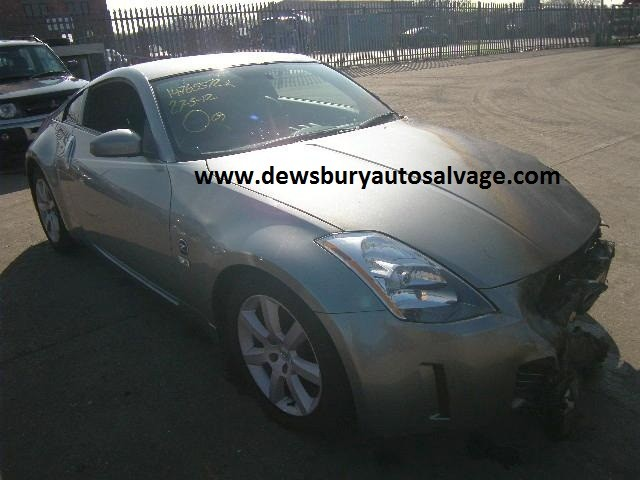 NISSAN 350Z 3500 CC PETROL BLACK FAIRLADY BREAKING SPARES NOT SALVAGE 3 DOOR COUPE 2003