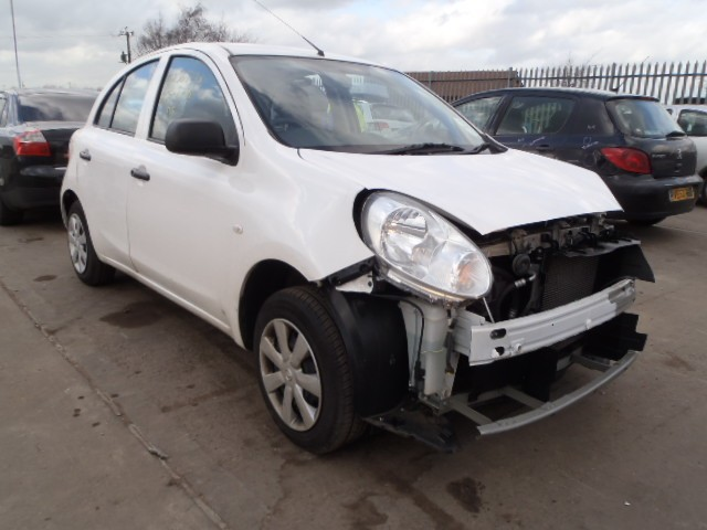 NISSAN MICRA VISIA CVT 1200 CC AUTOMATIC PETROL HATCHBACK 2013 BREAKING SPARES NOT SALVAGE