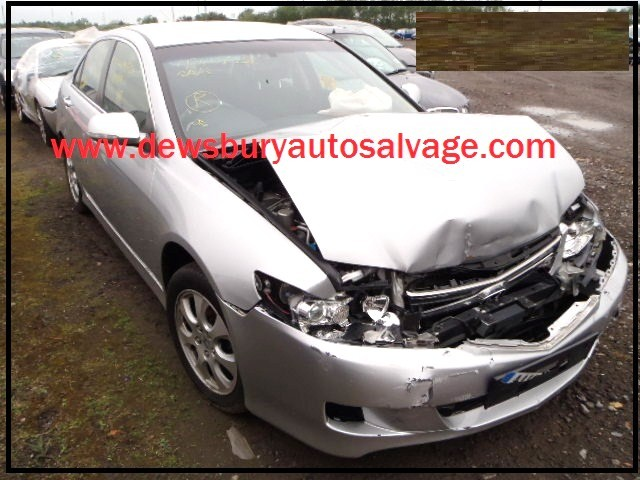 HONDA ACCORD SE-CTDI 2200 CC SILVER 4 DOOR SALOON 2008 BREAKING SPARES NOT SALVAGE