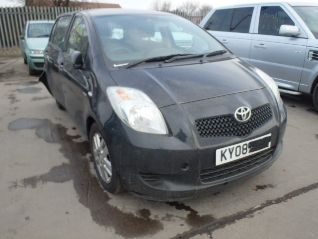 TOYOTA YARIS 1400 CC TR D-4D S-A AUTOMATIC BREAKING SPARES NOT SALVAGE 5 DOOR HATCHBACK 2008