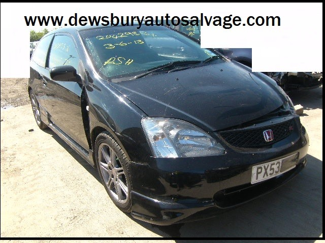 HONDA CIVIC TYPE R BLACK BREAKING SPARES NOT SALVAGE 2002