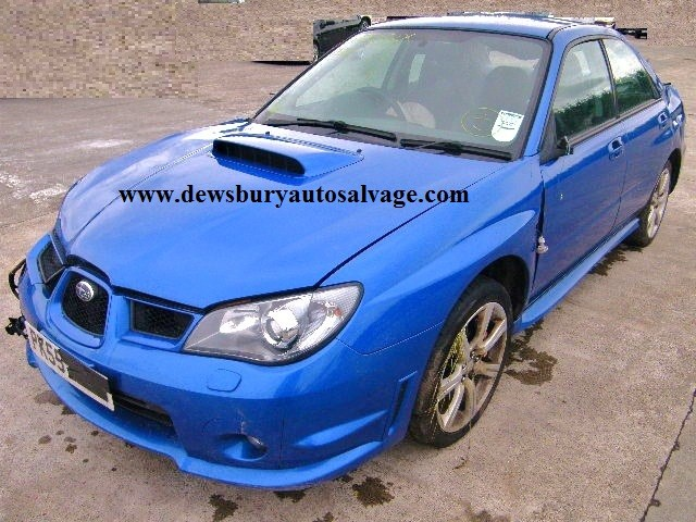 SUBARU IPMREZA 2500 CC 5 SPEED MANUAL PETROL 4 DOOR SALOON 2005 BREAKING SPARES NOT SALVAGE
