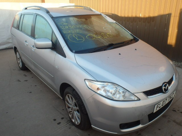 MAZDA 5 TS2 D 2000 CC 6 SPEED MANUAL MPV SILVER BREAKING SPARES NOT SALVAGE 2007