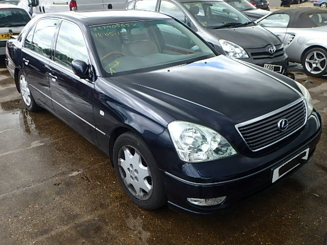 LEXUS LS430 LS 430 BLUE BREAKING SPARES NOT SALVAGE 4 DOOR SALOON 2002