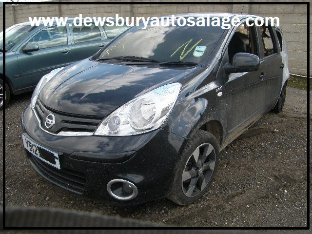NISSAN NOTE 1400 CC N-TEC MANUAL 5 DOOR HATCHBACK BREAKING SPARES NOT SALVAGE 2012