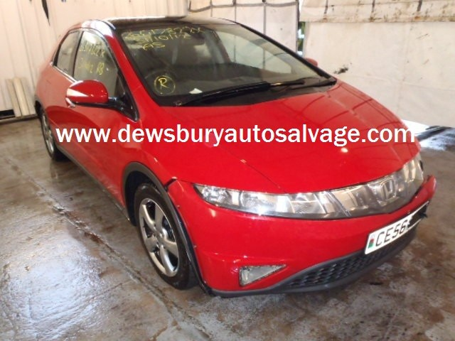 HONDA CIVIC 2200 CC RED BREAKING SPARES NOT SALVAGE 5 DOOR HATCHBACK 2006