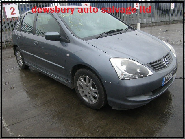 HONDA CIVIC SE 1600 CC GREY BREAKING SPARES NOT SALVAGE 5 DOOR HATCHBACK 2005