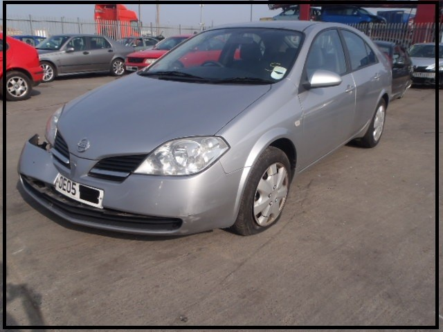 NISSAN PRIMERA S 1800 CC 5 SPEED MANUAL 5 DOOR HATCHBACK 2005 BREAKING SPARES NOT SALVAGE