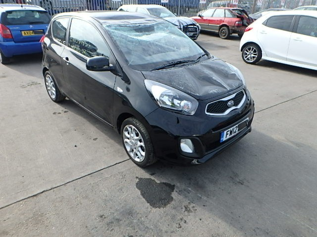 KIA PICANTO 1000 CC MANUAL PETROL 3 DOOR HATCHBACK BREAKING SPARES NOT SALVAGE 2012