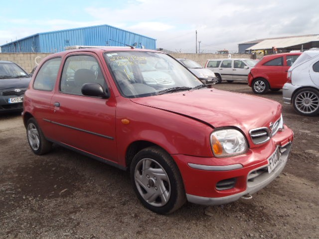 NISSAN MICRA VIBE 1000 CC PETROL 3 DOOR HATCHBACK 2002 BREAKING SPARES NOT SALVAGE