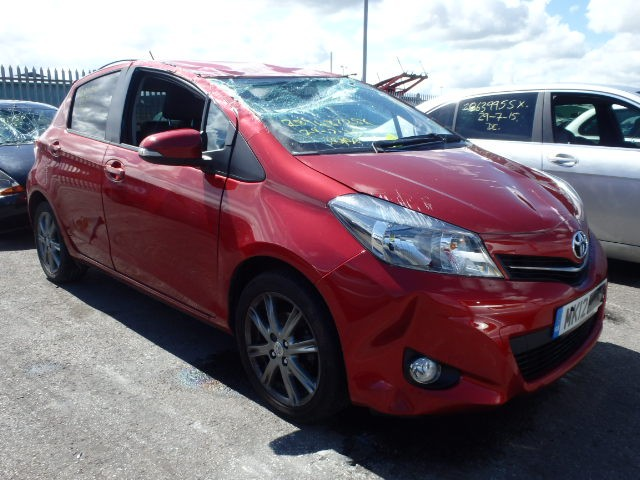TOYOTA YARIS 1300 CC SR VVT-i CVT AUTOMATIC BREAKING SPARES NOT SALVAGE 5 DOOR HATCHBACK 2012