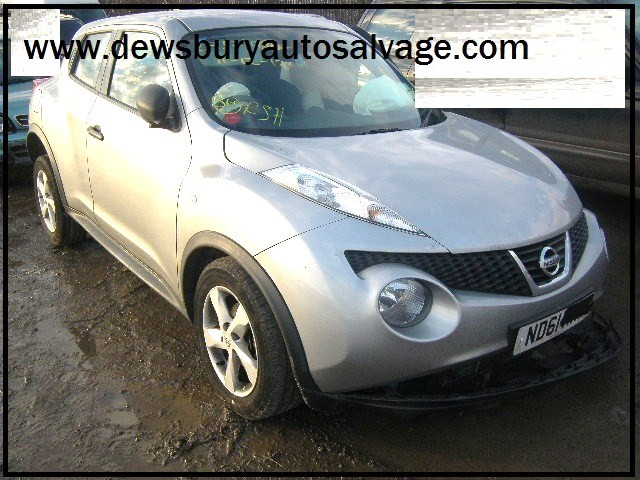 NISSAN JUKE VISIA DCI 1500 5 DOOR HATCHBACK 2012 BREAKING SPARES NOT SALVAGE