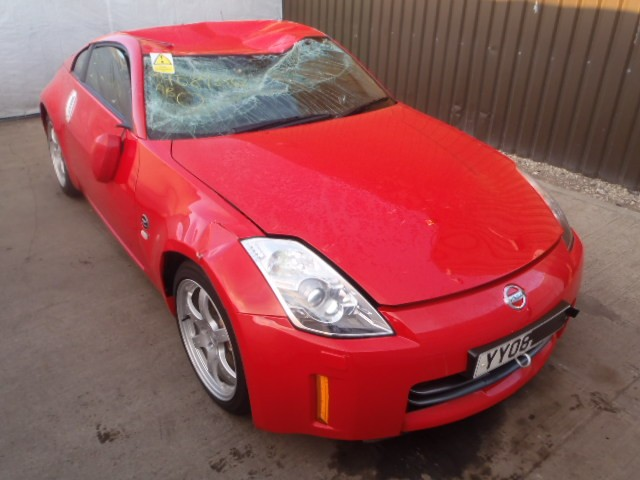 NISSAN 350Z 350 Z 350-Z 3500 CC PETROL RED BREAKING SPARES NOT SALVAGE 3 DOOR COUPE 2008