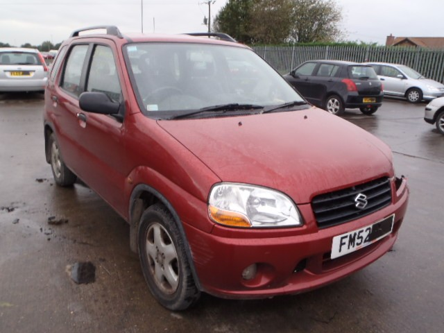 SUZUKI IGNIS 1300 CC 5 SPEED MANUAL PETROL 5 DOOR 2002 BREAKING SPARES NOT SALVAGE