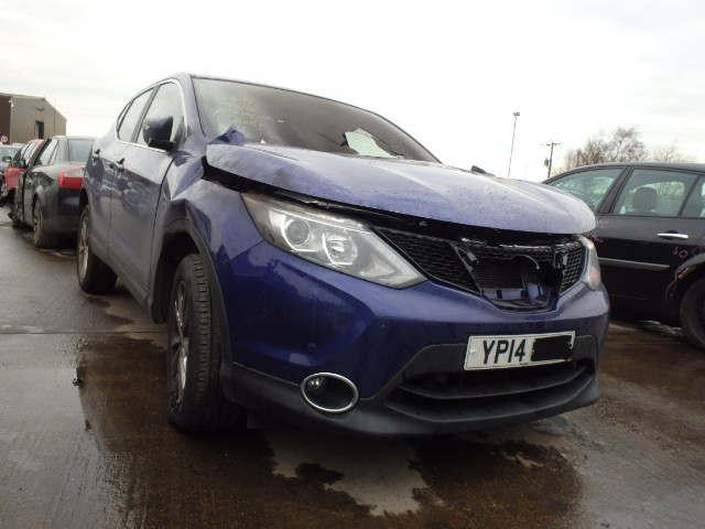 NISSAN QASHQAI 2014 2015 ACENTA SMART 1461 CC 1.5 MANUAL 5 DOOR BREAKING SPARES NOT SALVAGE