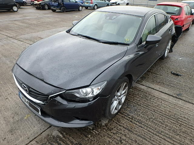 MAZDA 6 SPORTS AUTOMATIC GREY BREAKING SPARES NOT SALVAGE 4 DOOR SALOON 2014