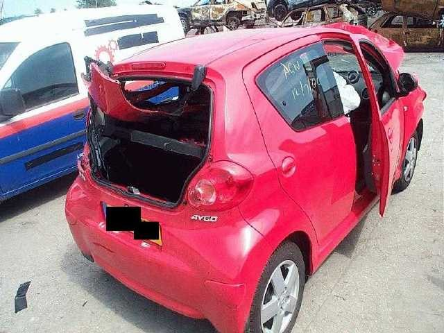 TOYOTA AYGO SPORT VVTI 1000 2006 RED Manual Petrol 5Door