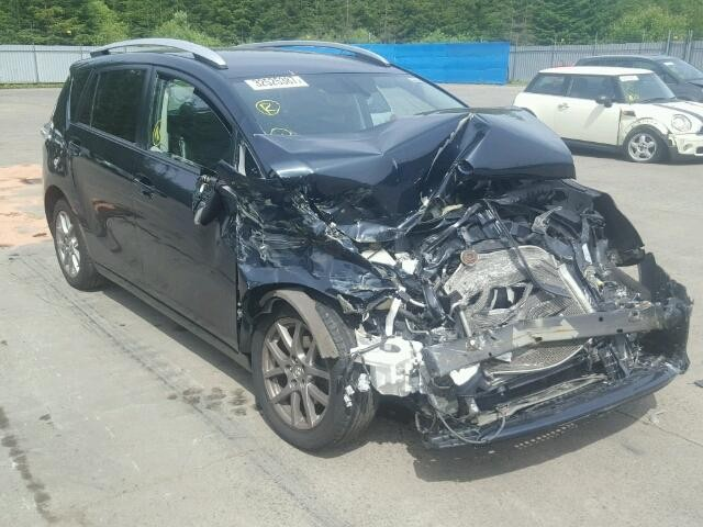 TOYOTA VERSO EXCE 1800 CC MPV AUTOMATIC PETROL BLACK  2013 BREAKING PARTS.
