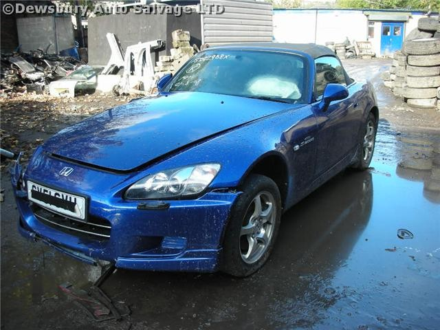 HONDA S2000  2000 2002 BLUE Manual Petrol 2Door SPARES BREAKING PARTS LEATHER SEATS