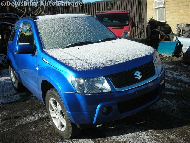 SUZUKI GRAND VITARA VVT 1600CC 2007 BLUE Manual Petrol 3 Door