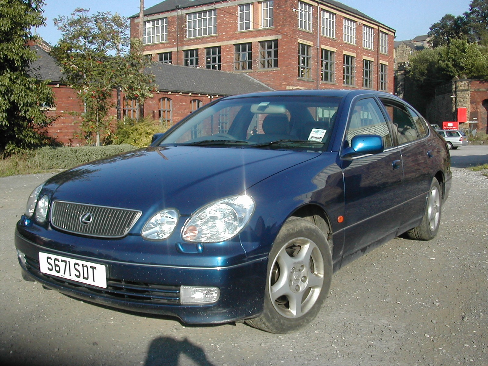 LEXUS GS300  3000 1999 BLUE AUTOPetrol 4 Door