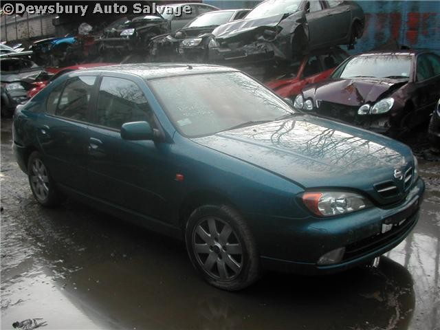 NISSAN PRIMERA  1600 2001 GREEN Manual Petrol 5Door
