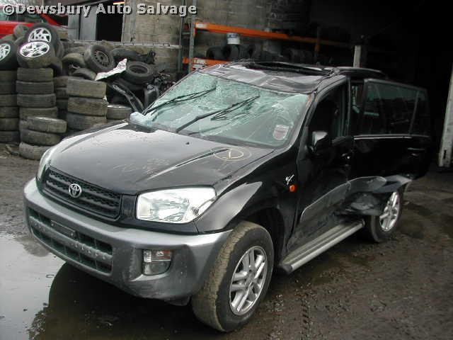 TOYOTA RAV-4 vvti 2000 2003 BLACK MANUAL Petrol 5Door