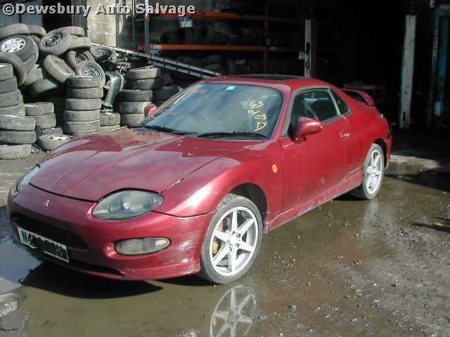 MITSUBISHI FTO MIVEC V6 2000 1996 YELLOW Automatic Petrol 2Door
