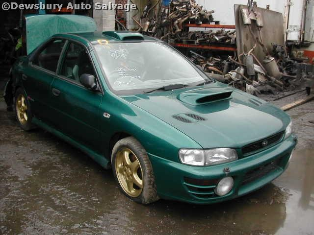SUBARU IMPREZA  2000 1998 BLUE Manual Petrol -