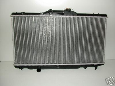 TOYOTA AVENSIS 2000 CC D4D AUTOMATIC RADIATOR 2001-2003