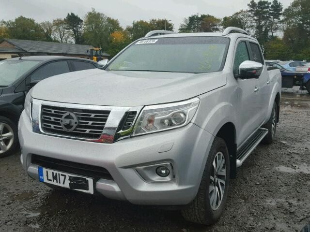 NISSAN NAVARA 2300 CC PICKUP DIESEL SILVER AUTOMATIC 2017 FOR SPARES /PARTS ONLY