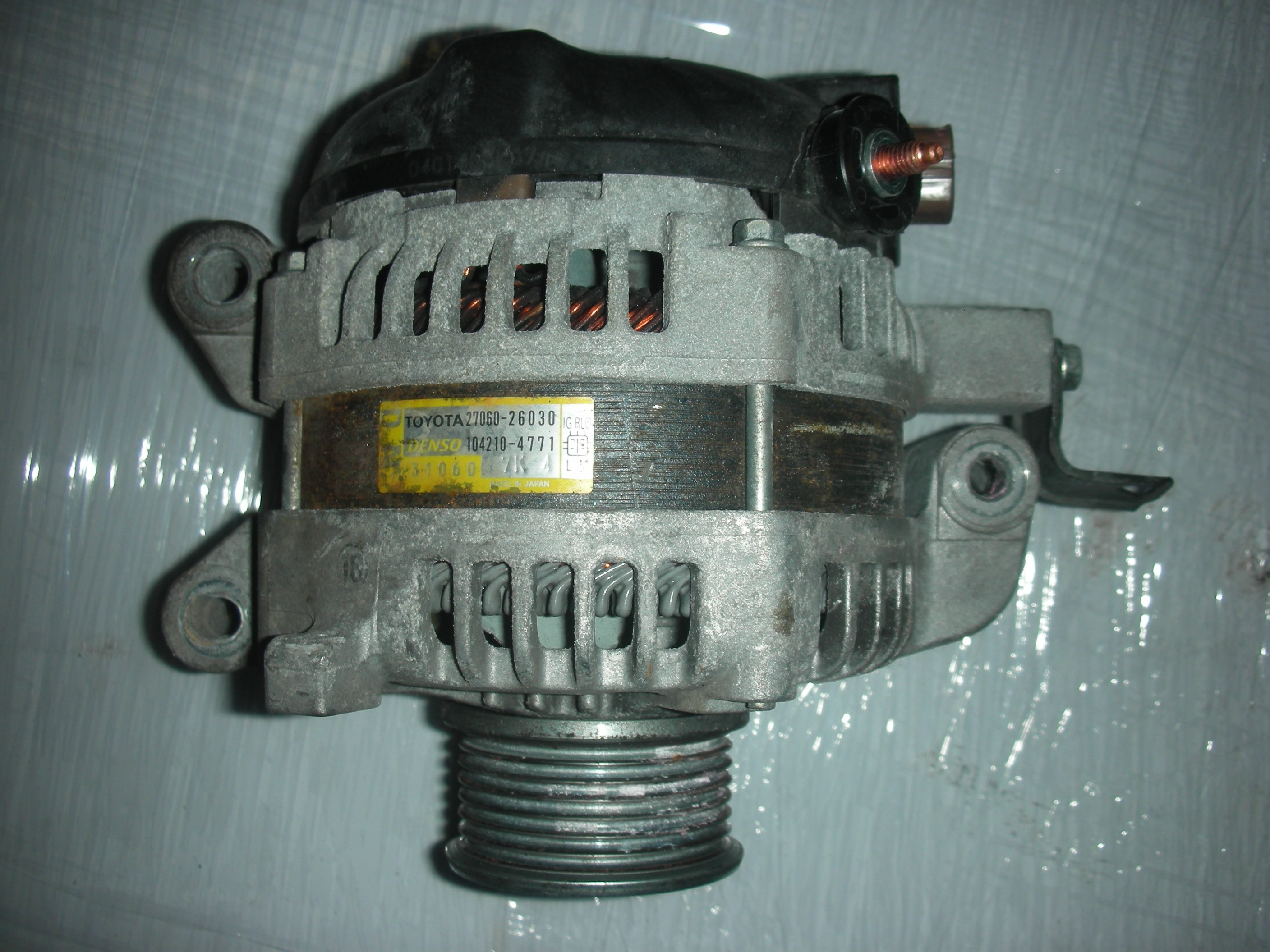 TOYOTA RAV-4 2200 CC DIESEL ALTERNATOR 2008-2009.