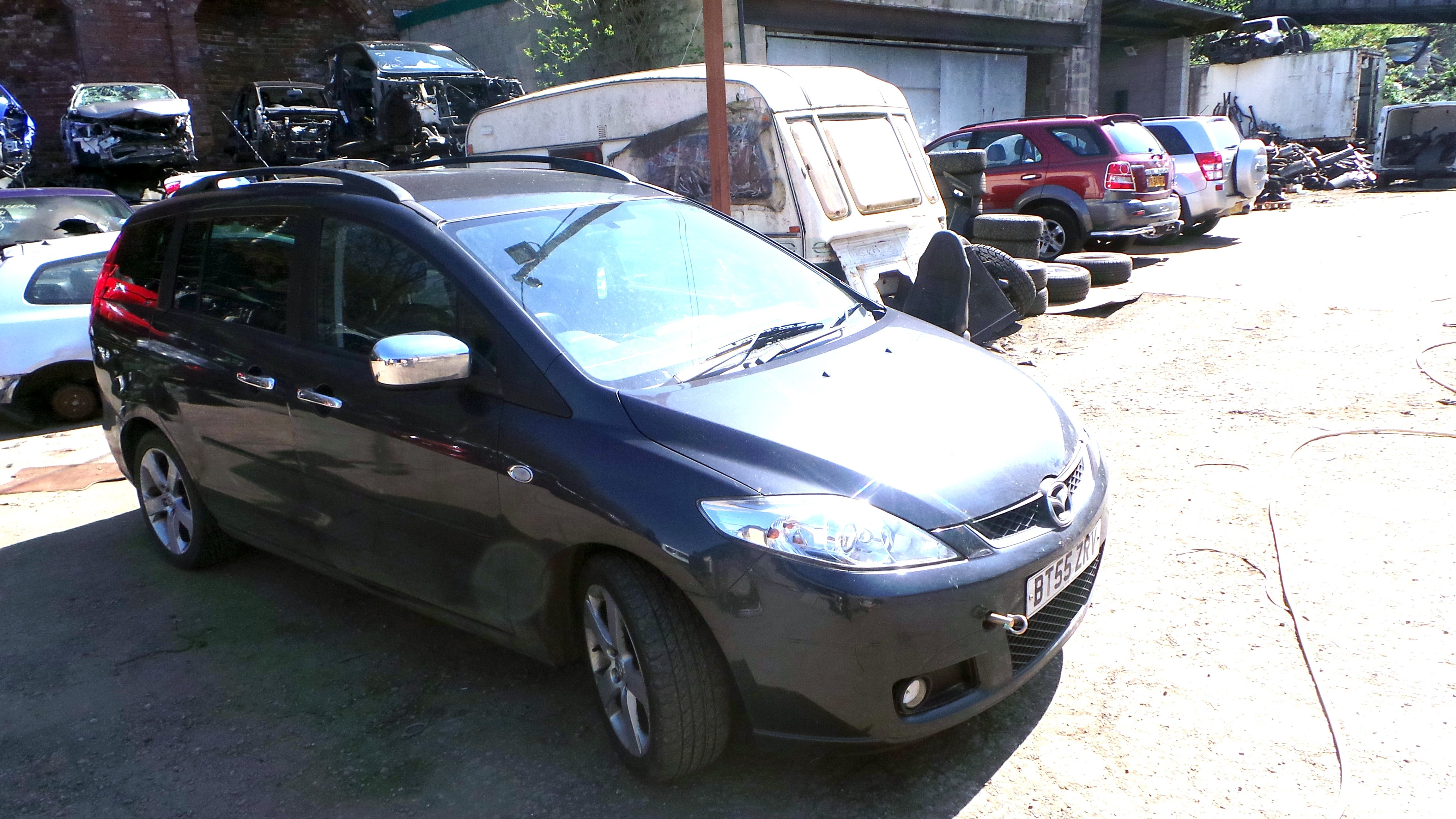 MAZDA 5 SPORT 2000 CC 6 SPEED MANUAL GREY BREAKING SPARES NOT SALVAGE 2006