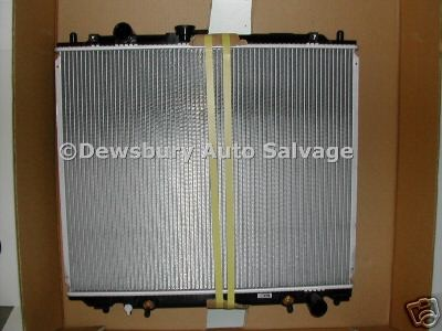 TOYOTA MR2 1800 CC VVTI 1999 ONWARDS AUTOMATIC RADIATOR