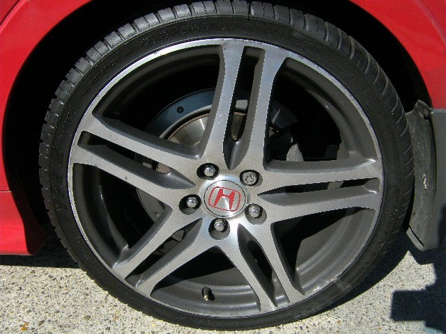 Honda rage alloys