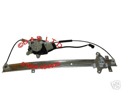 NISSAN CARGO 2000 CC PASSENGER SIDE FRONT (N/S/F) WINDOW WINDER REGULATOR 1993-2004