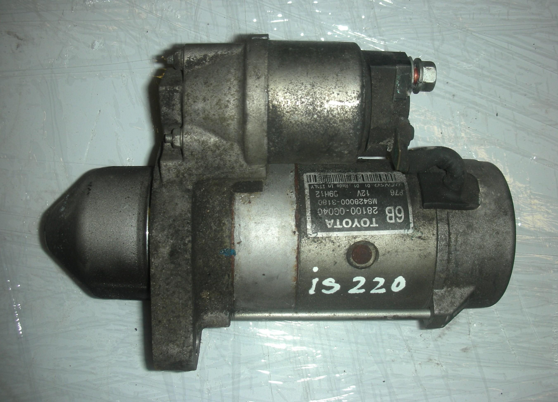 LEXUS IS220 CC DIESEL STARTER MOTOR 2008-2010