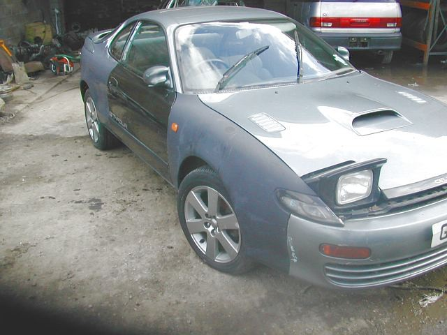 TOYOTA CELICA  2000 1993 RED Manual Petrol -