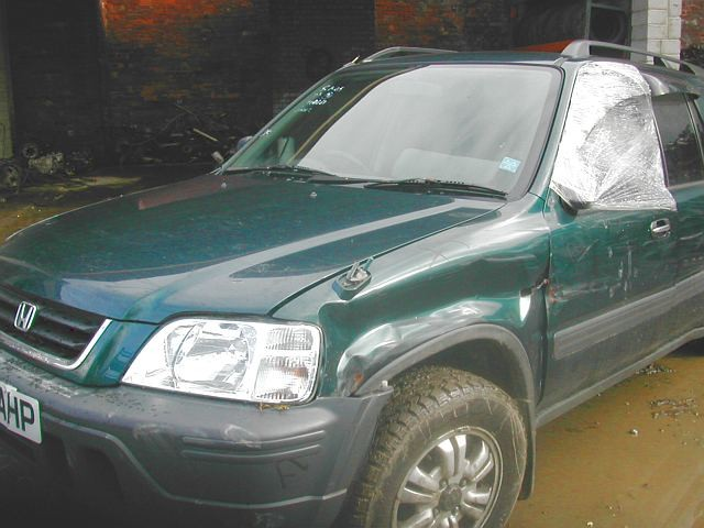 HONDA CR-V  2000 2002 BLUE Manual Petrol 5Door