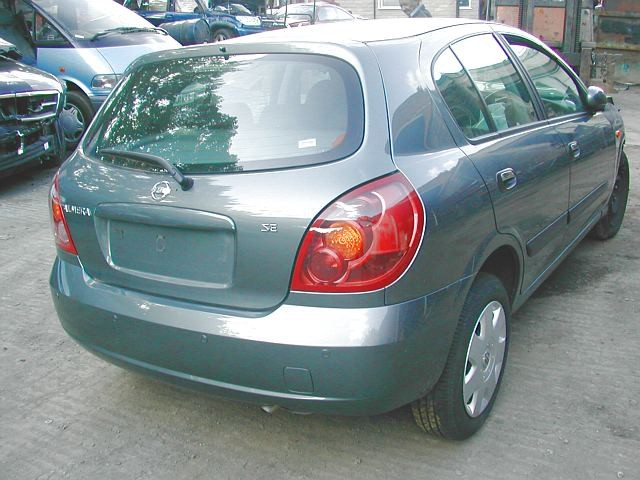 NISSAN ALMERA SE 1500 2005 SILVER Manual Petrol 5Door