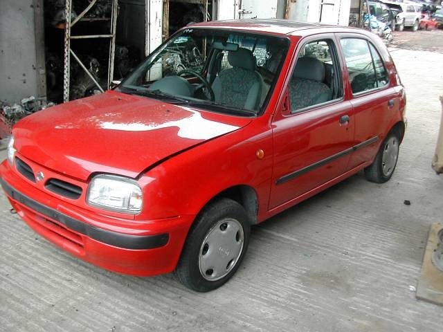 NISSAN MICRA  1300 1999 RED Manual Petrol -