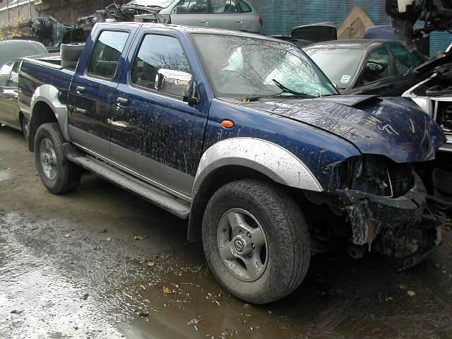 NISSAN NAVARA D22 2500 2005 BLUE Manual Turbo Diesel 4Door
