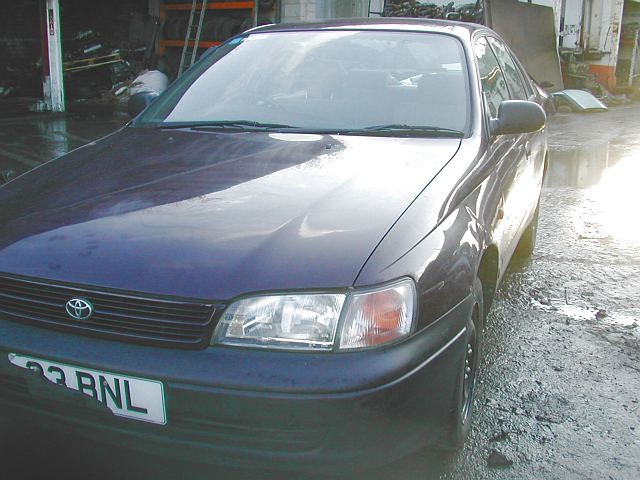 TOYOTA CARINA E  1600 1994 MAROON Manual Petrol 4 Door