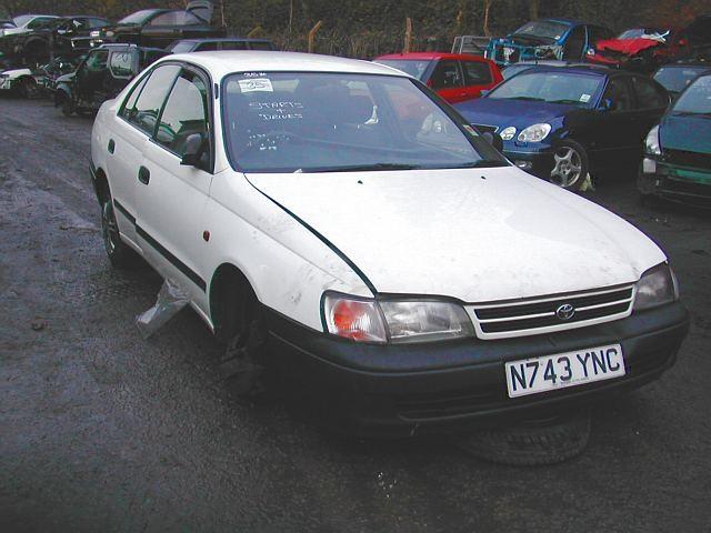 TOYOTA CARINA E  1800 1997 SILVER Manual Petrol -