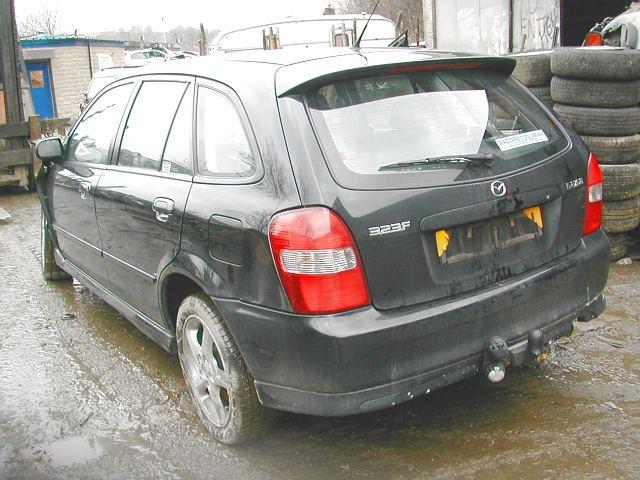 MAZDA 3  2000 2002 SILVER black l 5Door